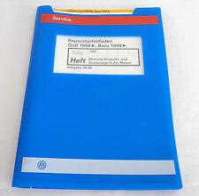Werkstatthandbuch VW Golf IV / Bora Motronic Einspritzanlage / Zündanlage ab 98