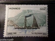 MONACO 1960, timbre TAXE 57, BATEAU LA PALMARIA, neuf**, VF MNH STAMP
