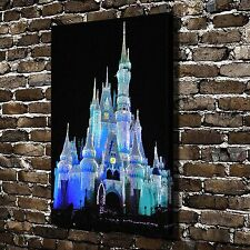 Disney Light castle Paintings HD Print on Canvas Home Decor Wall Art Picture