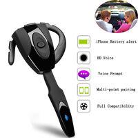 Bluetooth Stereo Headset Car Wireless Earphone Handsfree Headphone for Cellphone
