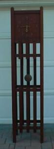 """Antique Pequegnat """"Canada"""" Tall Case Clock Berlin Ontario"""
