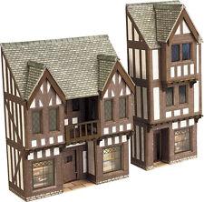 Metcalfe PN190 NEW OUT Low Relief Timber Framed Shop Die Cut Card Kit N Gauge 1s