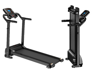 Foldable Treadmill Electric Motorised 1.5 Hp Home Gym Fitness Machine with LCD