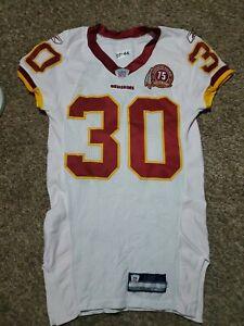 2007 Laron Landry Washington Redskins Reebok Team Issued Jersey Rookie Game