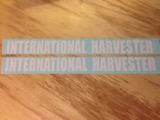 "2 -  15-1/4"" x 1-3/8"" INTERNATIONAL HARVESTER DECAL STICKER DIESEL TRUCK COLORS"