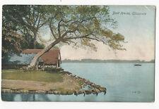 Shropshire - Boat House, Ellesmere - vintage postcard