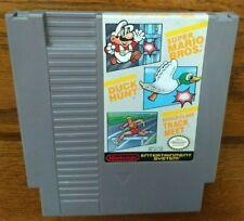Nintendo NES Game - Super Mario Bros. Duck Hunt Track Meet