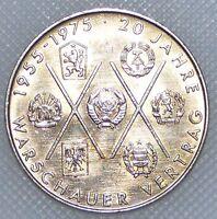 DDR 10 Mark 1975 20 Jahre Warschauer Vertrag