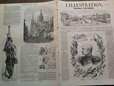 L'ILLUSTRATION 1855 N 657 MARECHAL AIMABLE PELISSIER, LE VAINQUEUR DE SEBASTOPOL