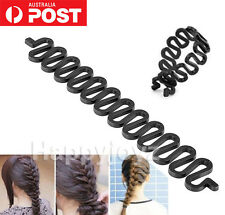 Hair Braiding tool French Plait Fish bone maker Magic twist Braiding stick braid