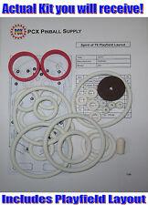 1975 Gottlieb Spirit of 76 Pinball Machine Rubber Ring Kit