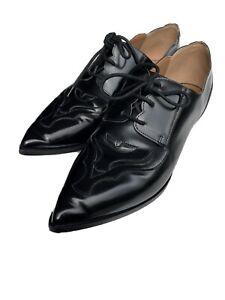 Georgio Armani Women Lace Up Shoes Sz 39