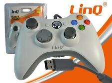 JOYPAD LINQ CON FILO XBOX 360 e PC COMPATIBILE JOYSTICK PER CONSOLE GAMEPAD
