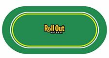 NEW Roll Out Gaming Poker Table Top FREE SHIPPING