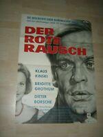Der Rote Rausch-Klaus Kinski Orginal A1 Kinoplakat