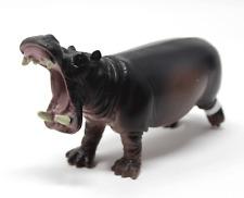 Rare Htf Terra by Battat Hippo Hippopotamus Figure Open Mouth Toy