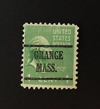 Orange, Massachusetts Type 43 Precancel - 1 cent Prexie (U.S. #804) MA