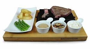 SteinenGrill Steak Stone Set