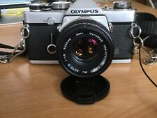 Olympus OM1 N 35mm SLR Film Camera with 50mm lens great sharp results