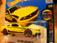 Hot Wheels Ford Mustang GT gelb 2010