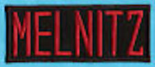 CHILD SIZED Iron-on Ghostbusters Name Tag Patch  - MELNITZ