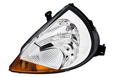 LEFT side headlight front light for FORD KA MK1 RBT HALOGEN