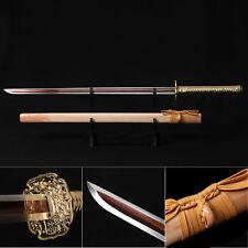 Ninja Katana, Handmade Japanese Samurai Sword Real Full Tang Sword