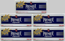 Premier Supermatic King Size Cigarette Filter Tubes Full Flavor 5 Boxes - 3101-5
