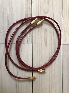 1m Chord Crimson - Very Good Condition! RCA - RCA.
