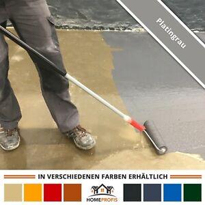 HPBI-500 2K Epoxidharz Fußbodenfarbe Innen (25m²) Kellerfarbe Beton   RAL 7036