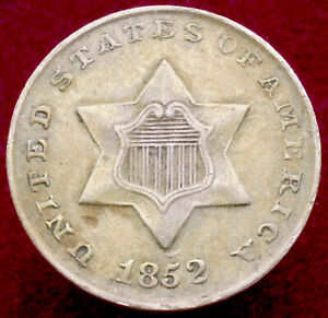 United States 3 Cents 1852 (H2804)