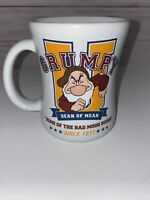 Disney Store Grumpy U Coffee Mug Dean of Mean Home Of The Bad Mood Dudes Used