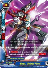 """Buddyfight x 4 Blast, """"Soldier Form"""" [D-BT04/0066EN U] English Mint Future Card"""