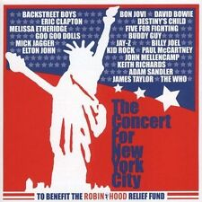 THE CONCERT FOR NEW YORK CITY sacd SUPER AUDIO cd NEW (DAVID BOWIE.ERIC CLAPTON)