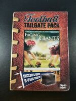 Facing the Giants DVD Football Tailgate Pack w/6 Pack Cooler~NEW SEALED