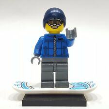 """LEGO Collectible Minifigure #8805 Series 5 """"SNOWBOARDER GUY"""" (Complete)"""