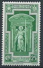 1933 REGNO ANNO SANTO 25 CENT MNH ** - T188