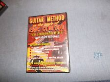 Guitar Method in the Style of Eric Clapton: 40 Slowhand Riffs (DVD, 2004)