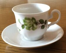 Winterling Kaffeetassen mit Untertassen - 9-tlg. - Neu und OVP - Blumendekor