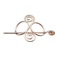 Viking Norse Hair Clips Metal Celtic Knots Hairpins Women Hair Accessories