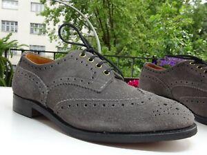 TRICKERS TRICKER'S Her Goodyear Budapester Schuhe Leder England Gr.41(7,5 f.Neuw