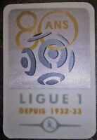 France Patch Badge LFP Ligue 1 80 ans maillot de foot OM PSG OL Monaco 12/13