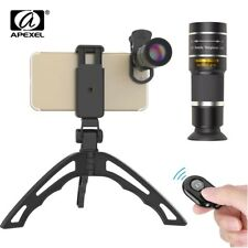Apexel mobile phone camera lens 20X Zoom Telescope monocular lenses KIT