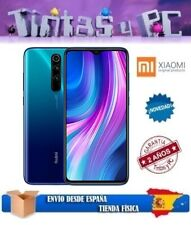 XIAOMI REDMI NOTE 8 PRO 64GB AZUL. 6GB RAM. MTK HELIO G90T. VERSION GLOBAL.