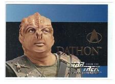 "1995 SKYBOX ""Star Trek Next Generation"" Embossed   DATHON S28"