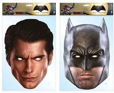 Batman V Superman Dawn of Justice Pack 2 2D Tarjeta Caretas De Fiesta DC Comics