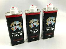 IMCO Benzin - Das Original - 3 x 133ml Kanister Feuerzeug Benzin