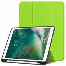 Case für Apple iPad 9.7 2017/2018 Hülle Slim Schutzhülle Smart Cover Tasche Grün