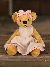 Teddy Bear 'Kitty' Handmade Settler Bears Gift Mini Bear Collectable 12cms NEW