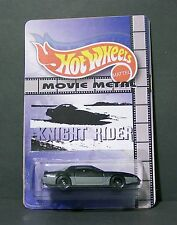 "Custom HotWheels KARR and package of  ""Movie Metal""  from KNIGHT RIDER"
